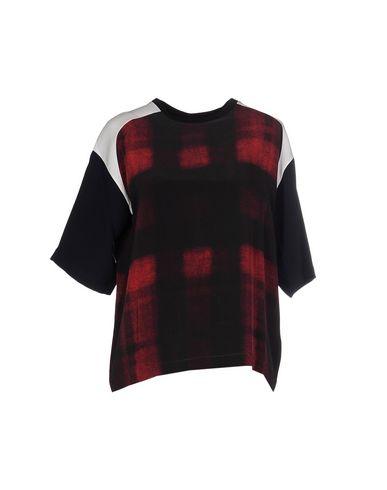 Фото - Женскую блузку NICO красно-коричневого цвета