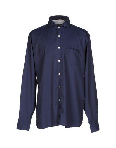 Купить Pубашка от NEW ENGLAND темно-синего цвета