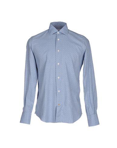 Фото - Pубашка от BRIGNOLI небесно-голубого цвета