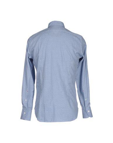 Фото 2 - Pубашка от BRIGNOLI небесно-голубого цвета