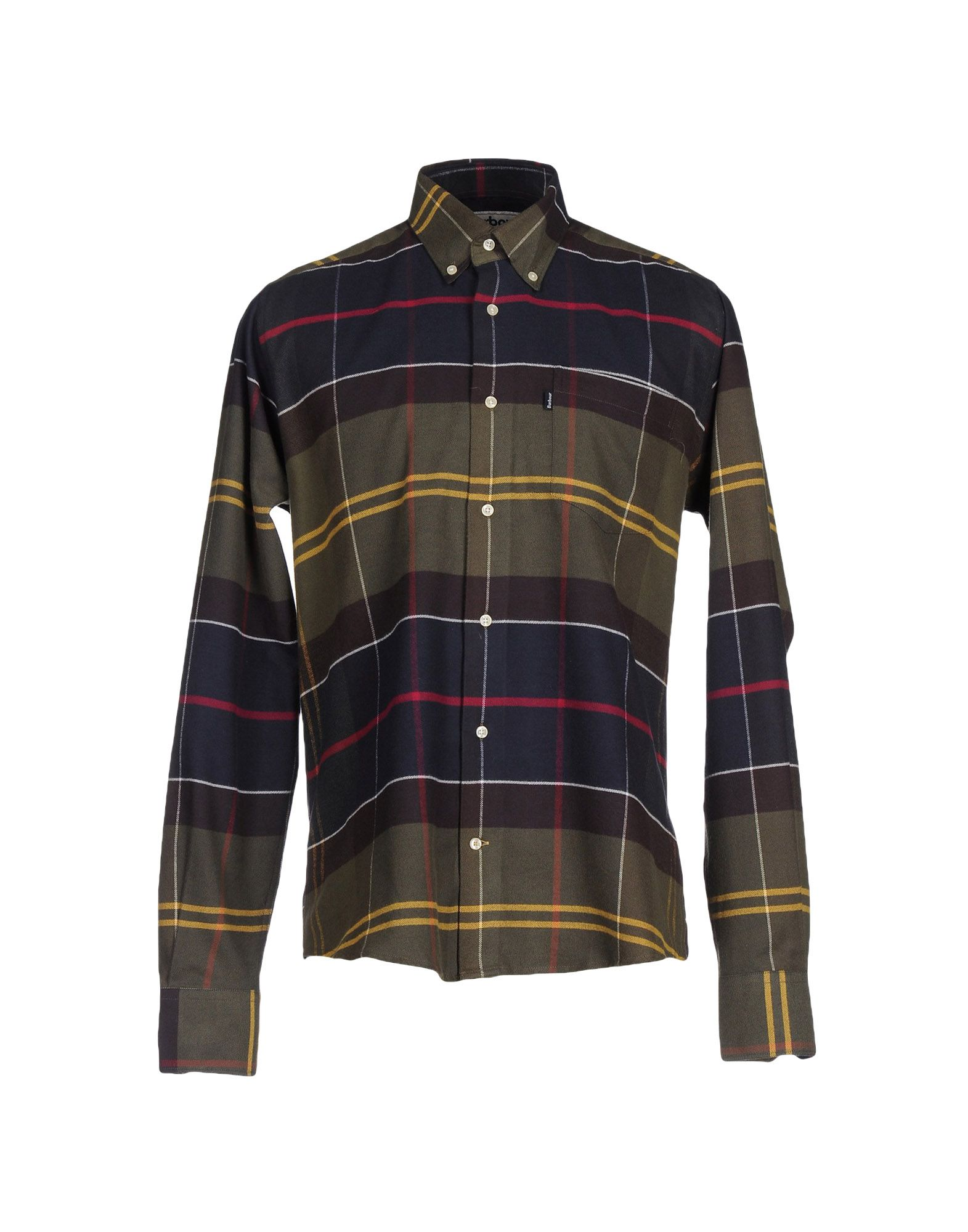 BARBOUR Pубашка barbour mml0851 gy52