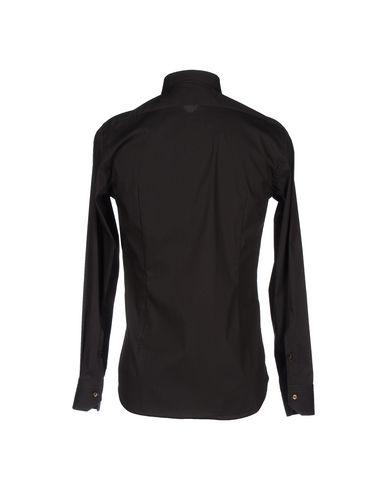 Фото 2 - Pубашка от ROMEO BUCCI черного цвета