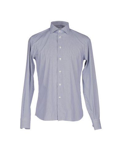 Фото - Pубашка от ROMEO BUCCI темно-синего цвета