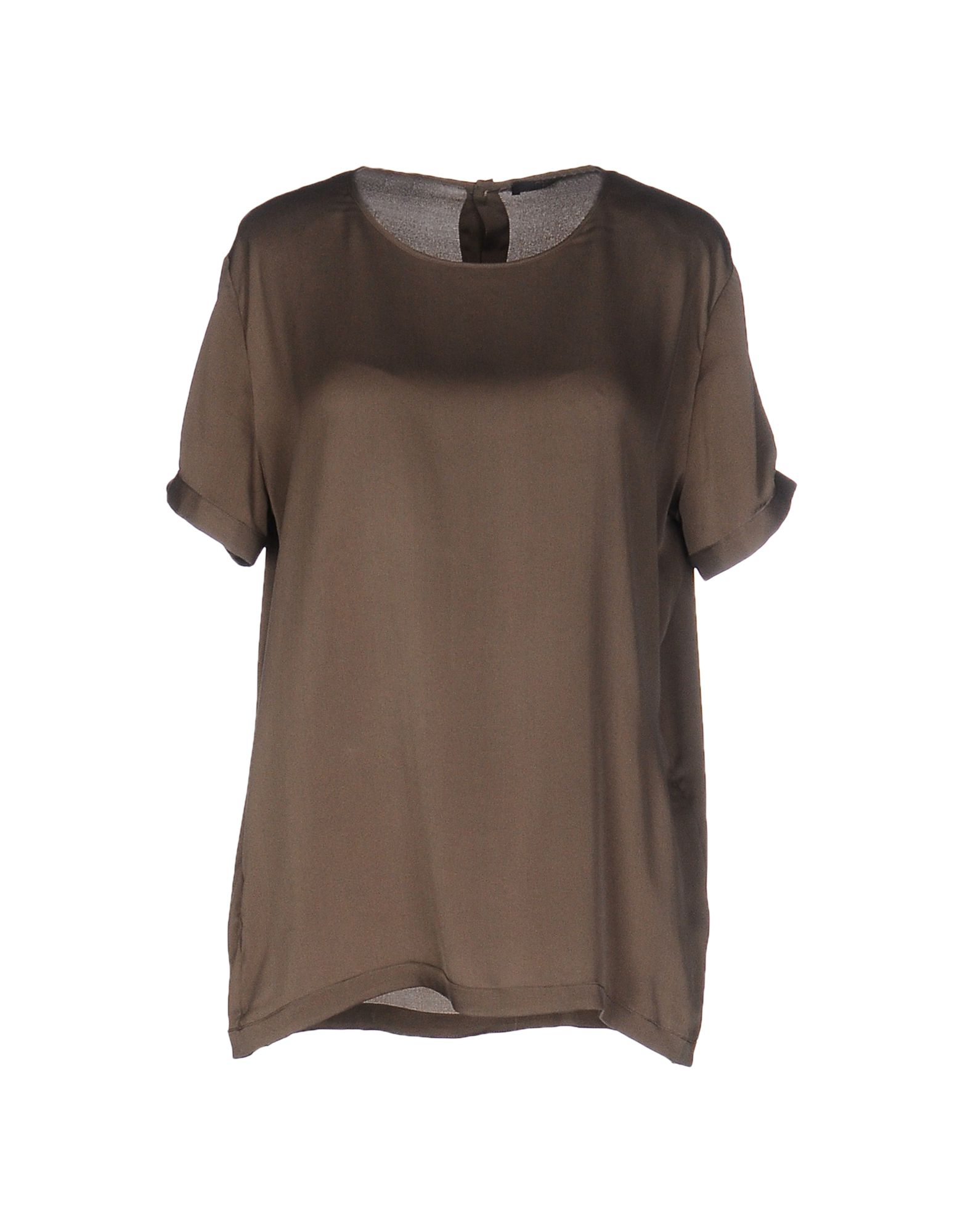 AGLINI Blouse in Military Green