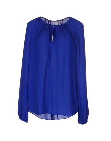 Купить Женскую блузку  синего цвета