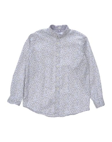 AGLINI Jungen Hemd Himmelblau Größe 6 100% Baumwolle