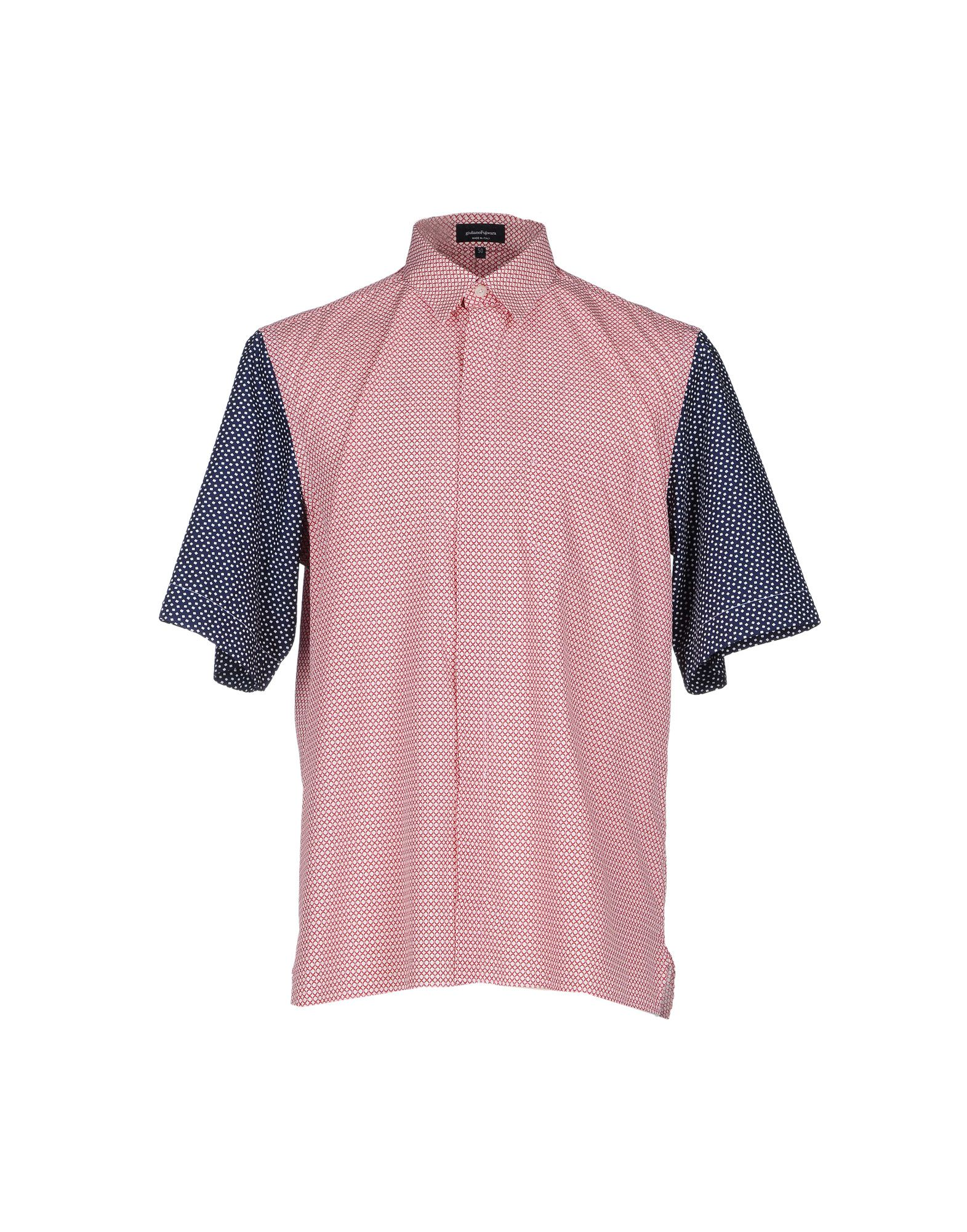 GIULIANO FUJIWARA Patterned Shirt in Red