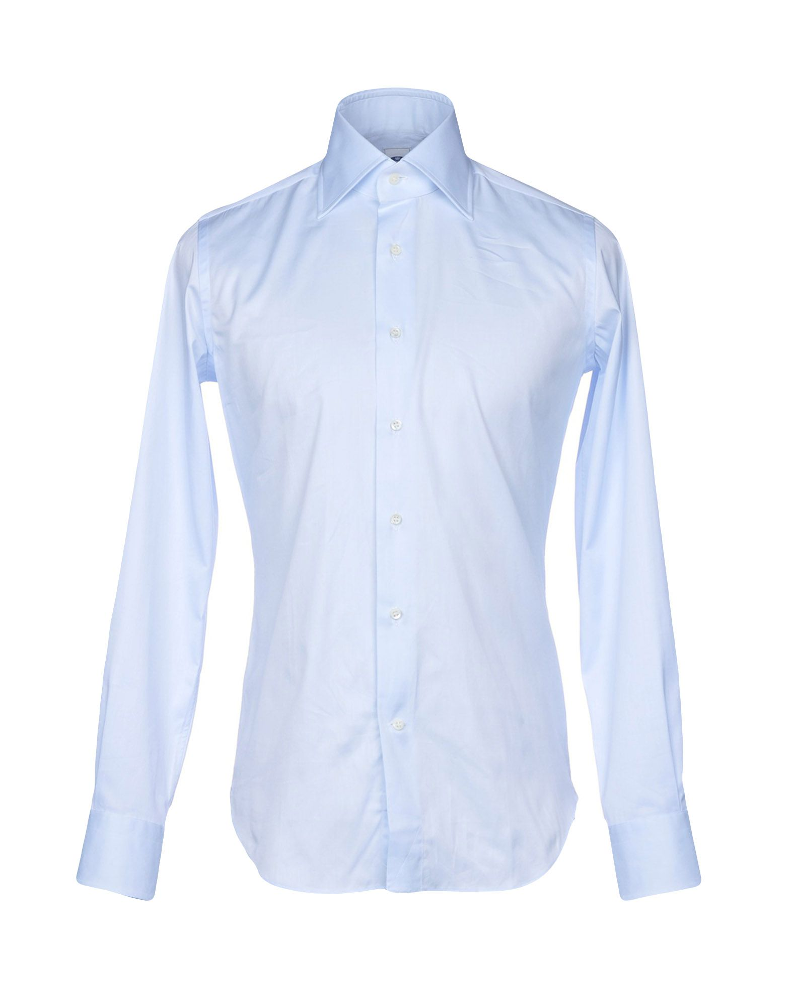 LEXINGTON Solid Color Shirt in Sky Blue