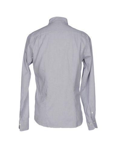 Фото 2 - Pубашка от DU4 темно-синего цвета