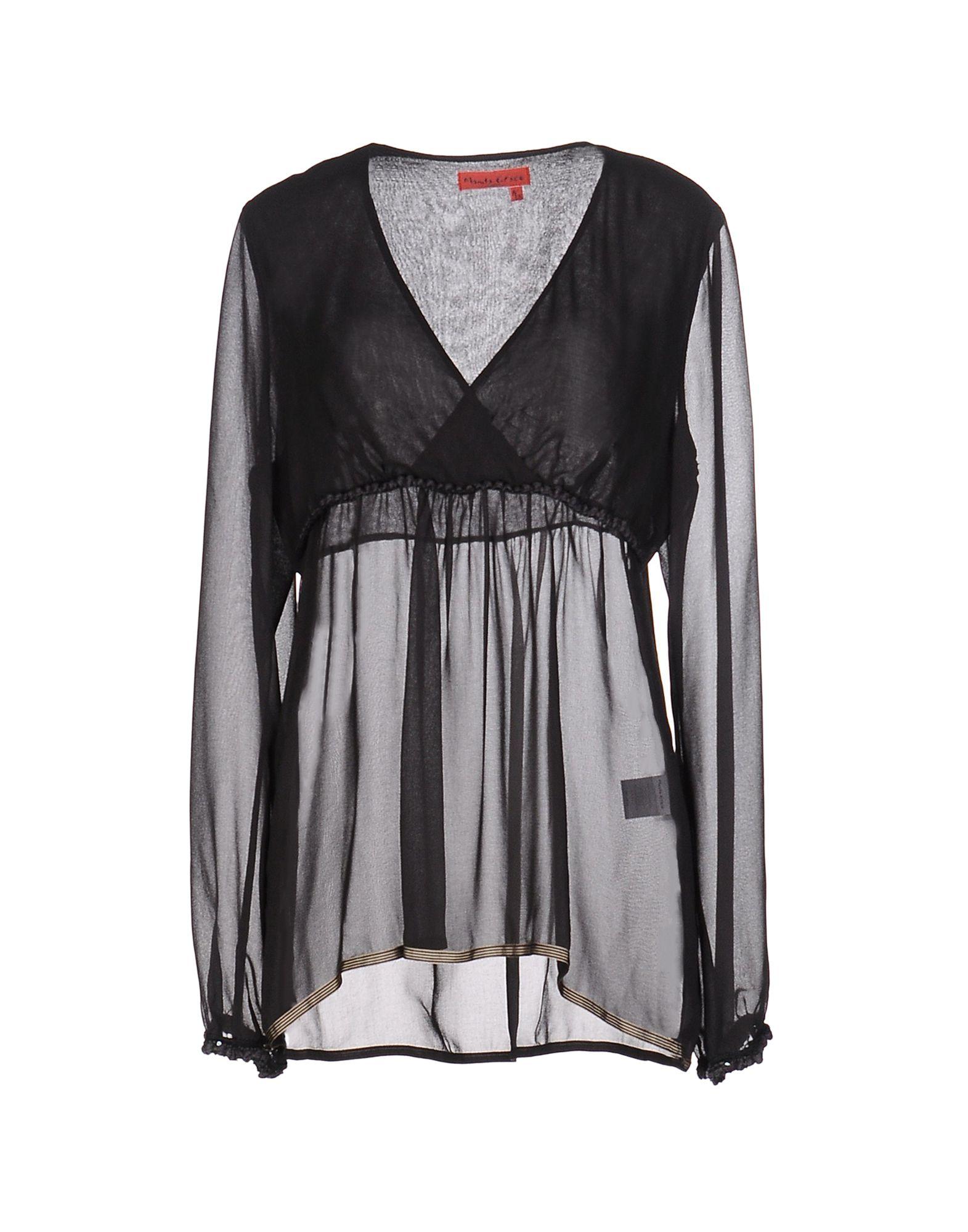 MANILA GRACE DENIM Блузка цены онлайн