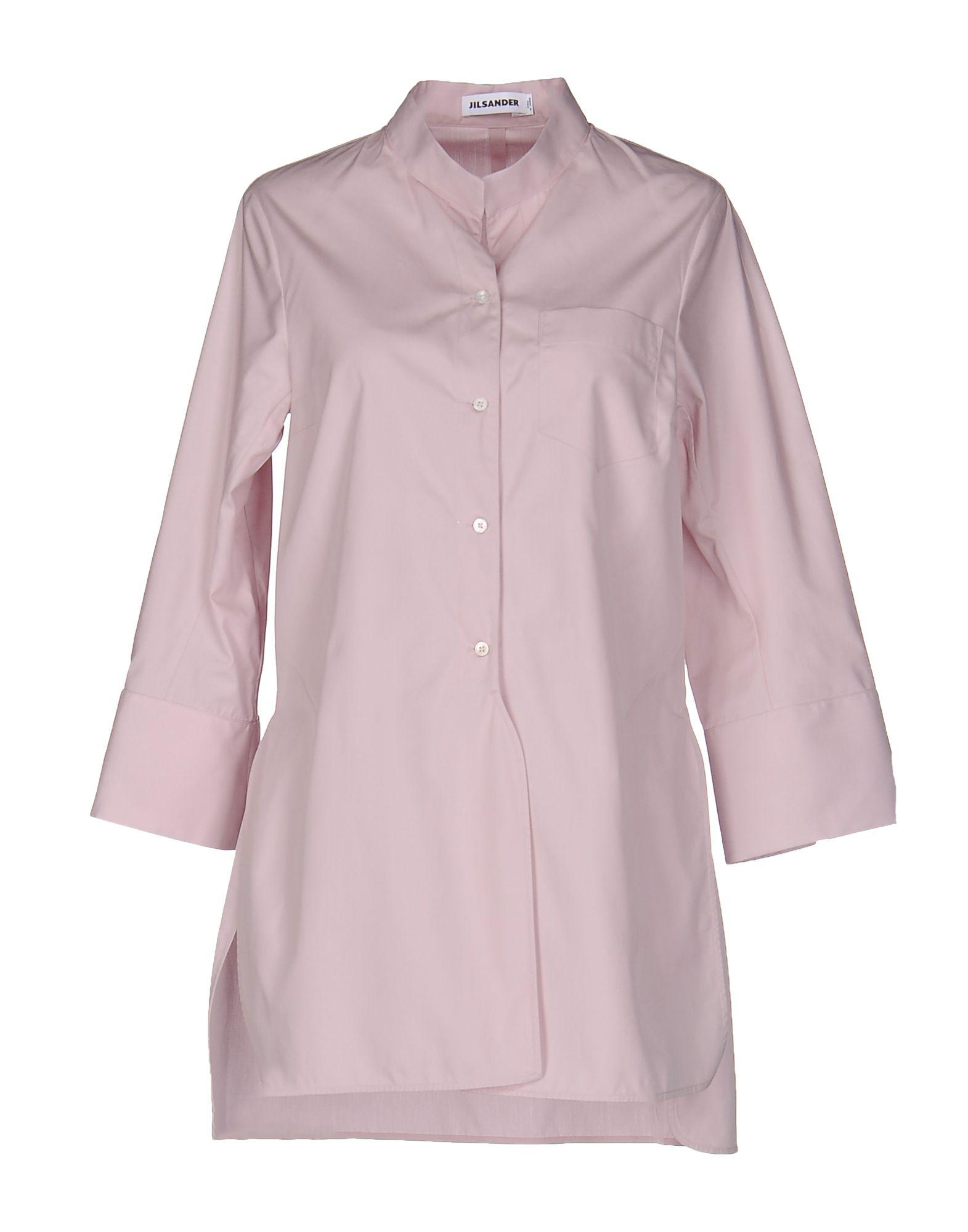 Jil Sander Cottons Solid color shirts & blouses