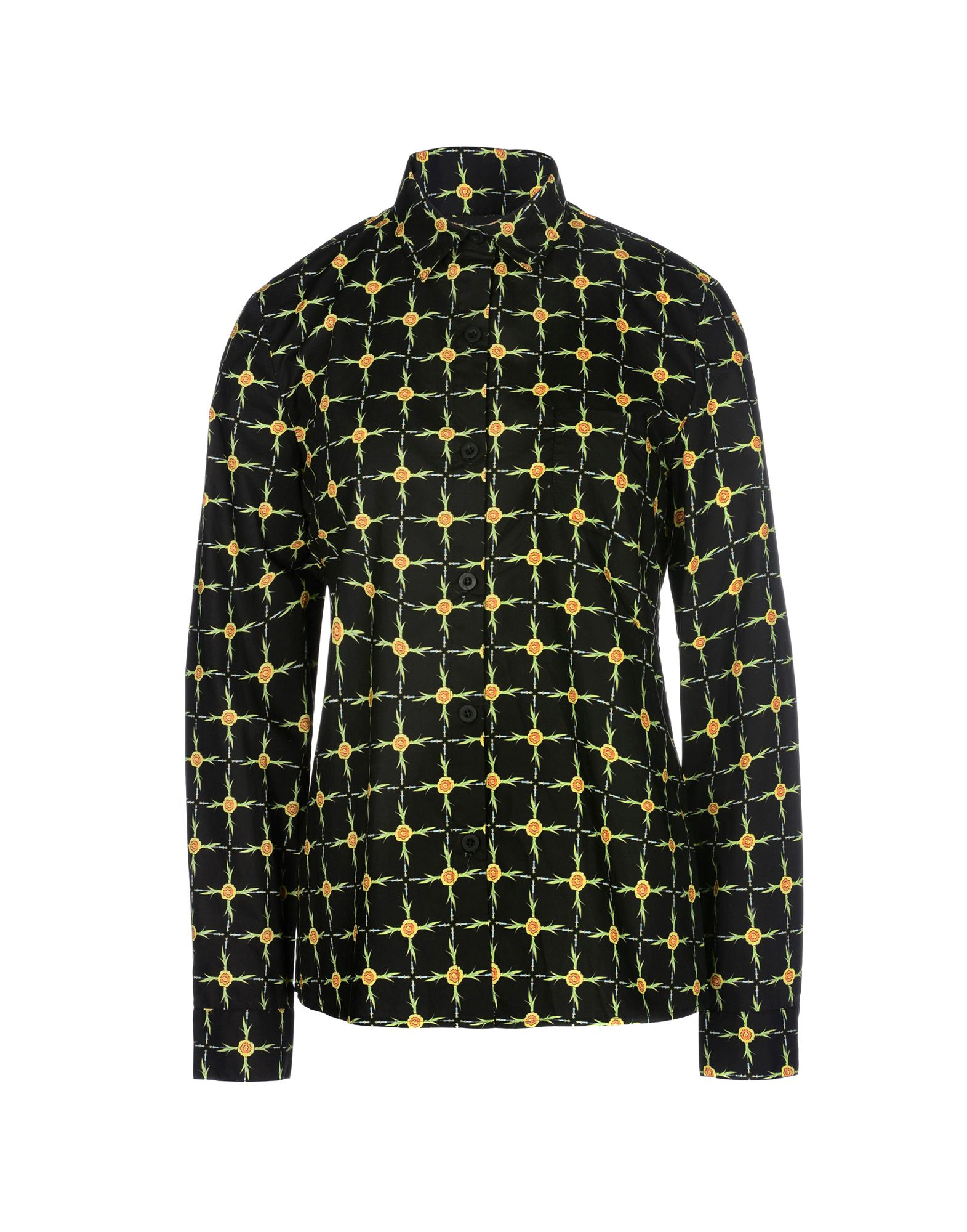 LAURENCE & CHICO Patterned Shirts & Blouses in Black