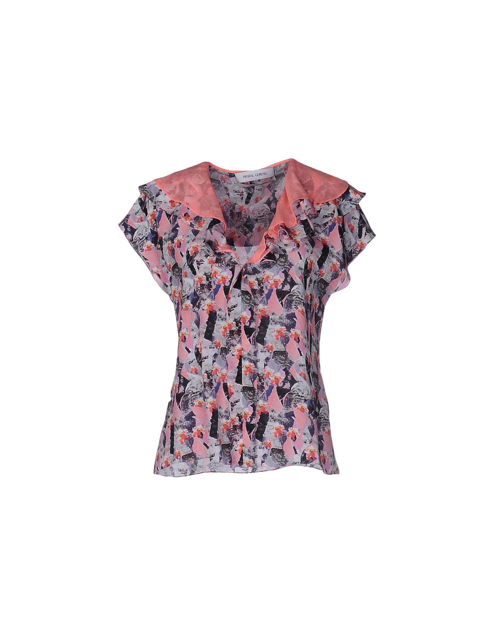 цена PRABAL GURUNG Блузка онлайн в 2017 году
