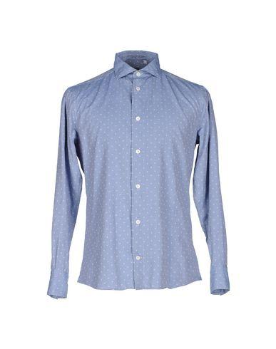 Фото - Pубашка от ELEVENTY небесно-голубого цвета