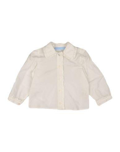 MISS BLUMARINE Baby Hemd Weiß Größe 12 100% Polyester