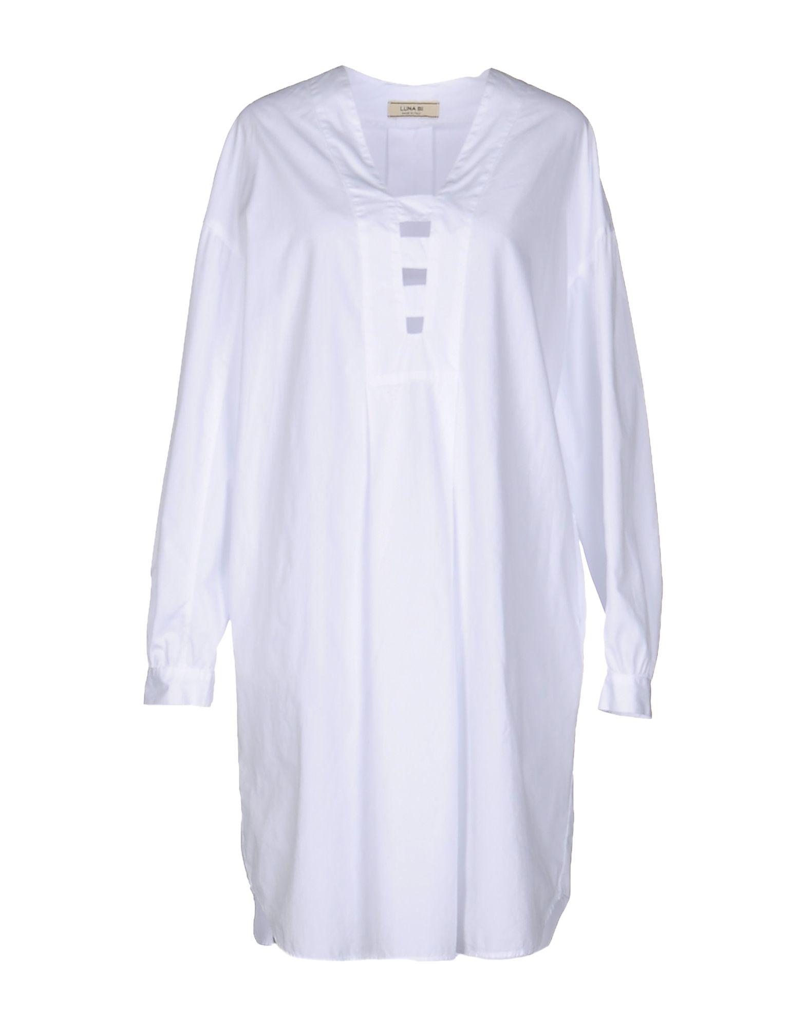 LUNA BI Короткое платье платье flora luna цвет экрю