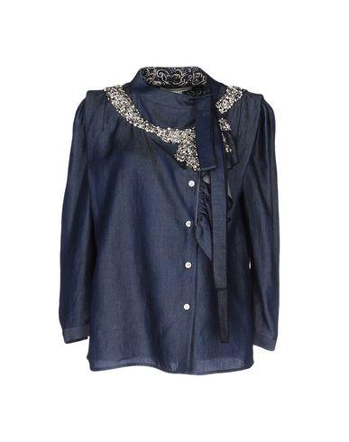 MARC JACOBS Джинсовая рубашка marc jacobs рубашка с принтом