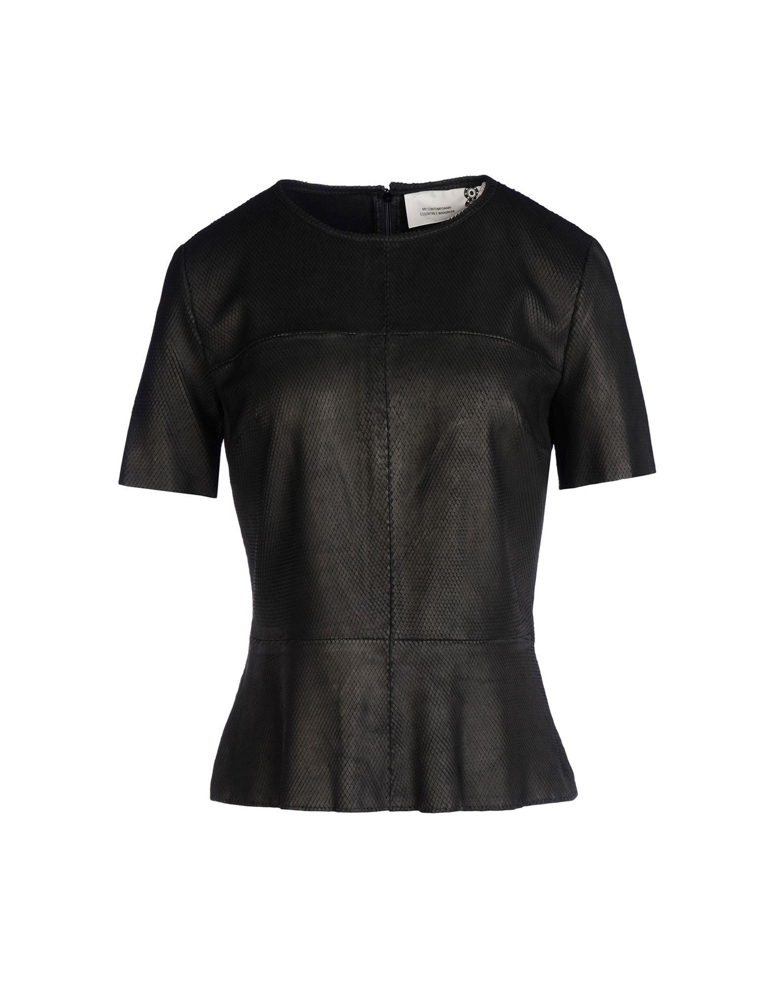 8 Блузка платья с принтами