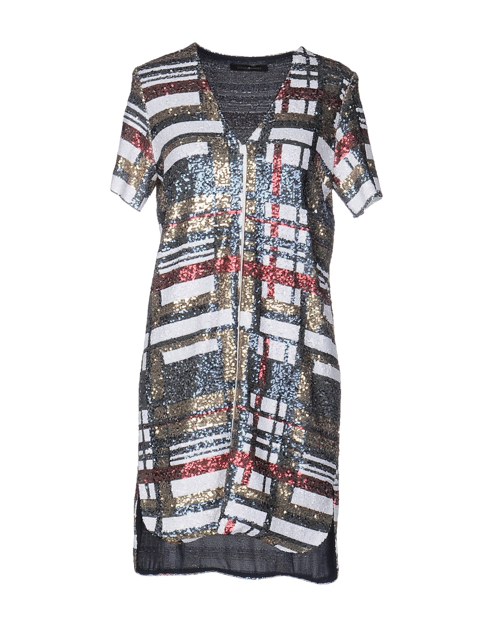 цена DOMINIOUNDICI Короткое платье онлайн в 2017 году
