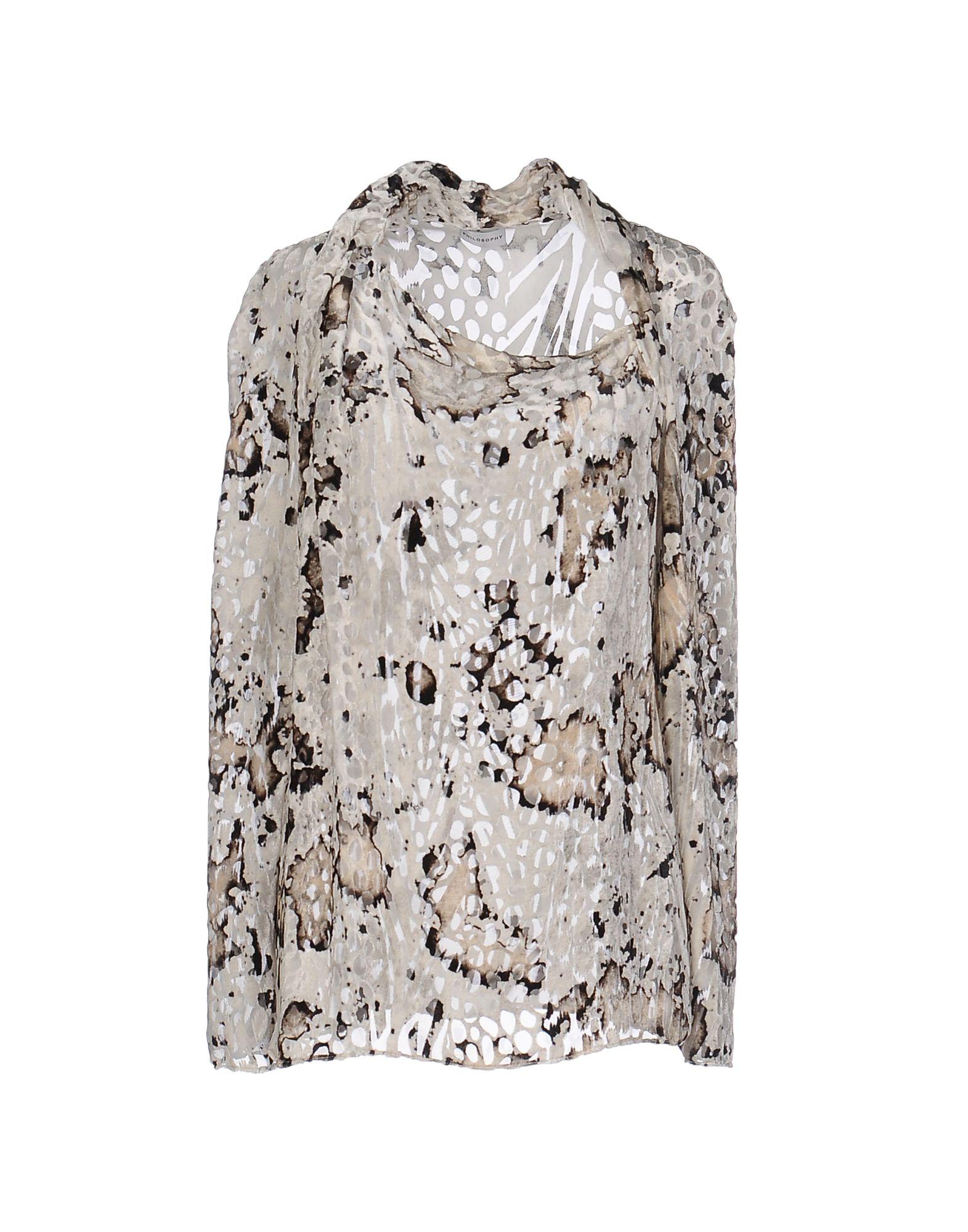 PHILOSOPHY di ALBERTA FERRETTI Блузка цены онлайн