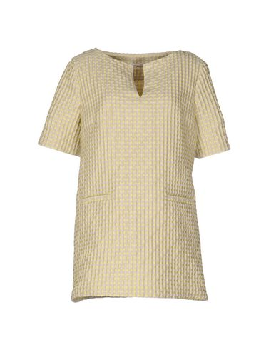 Купить Женскую блузку  кислотно-зеленого цвета