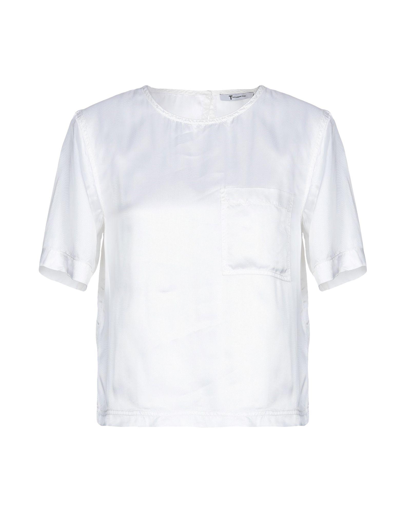 T by ALEXANDER WANG Блузка блузка t tahari блузка