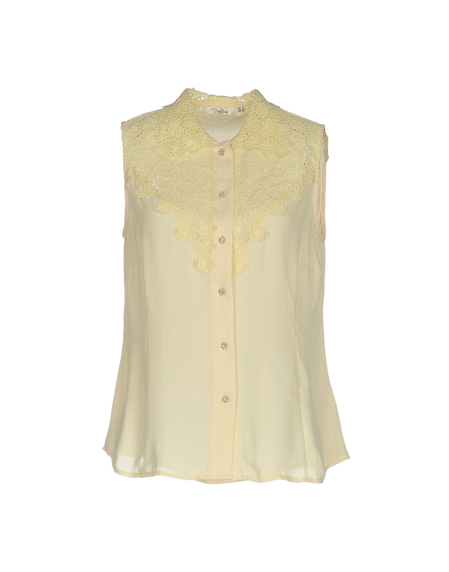 DARLING Pубашка darling футболка без рукавов