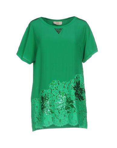 Фото - Женскую блузку VDP CLUB зеленого цвета