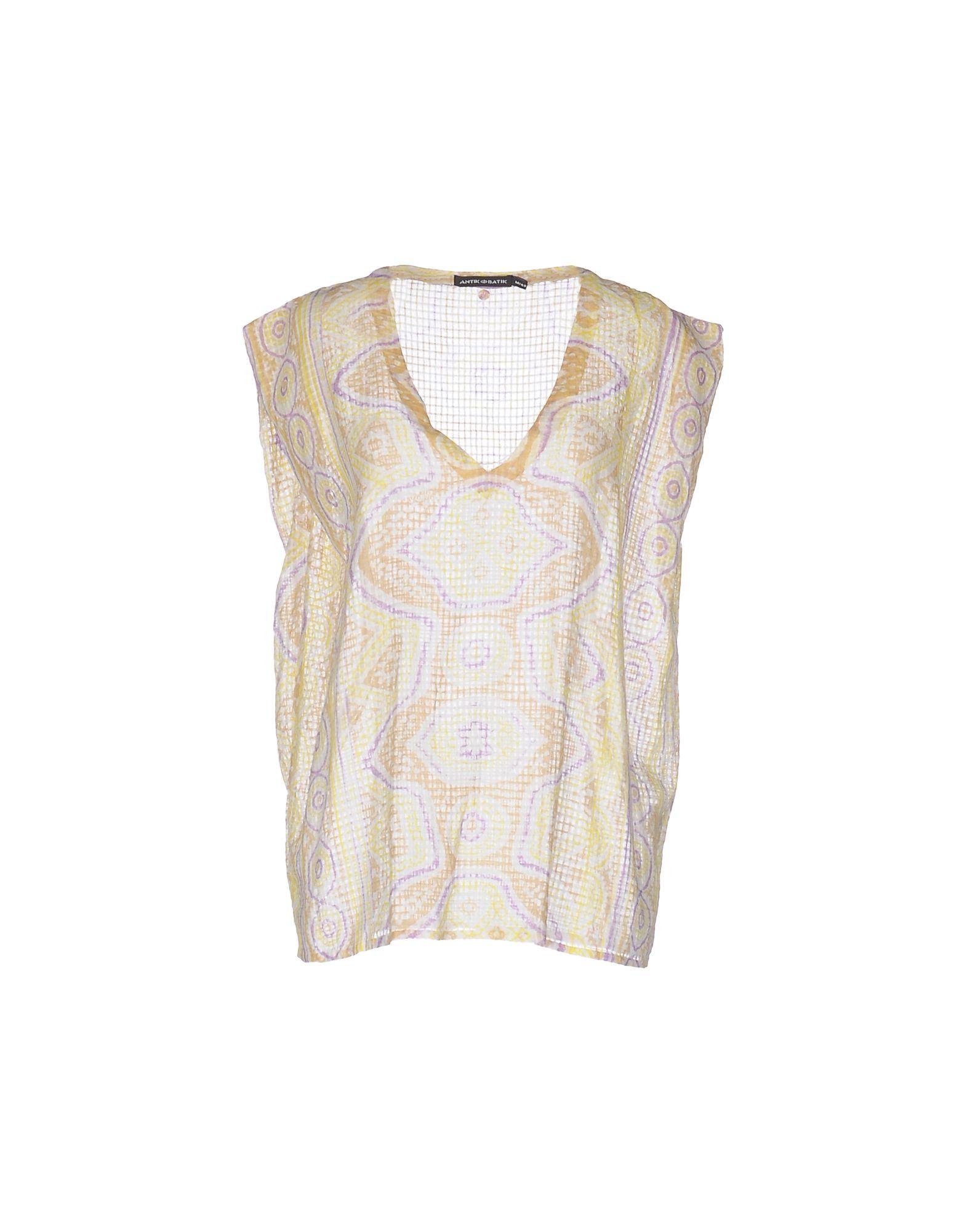 ANTIK BATIK Топ без рукавов antik batik мини юбка