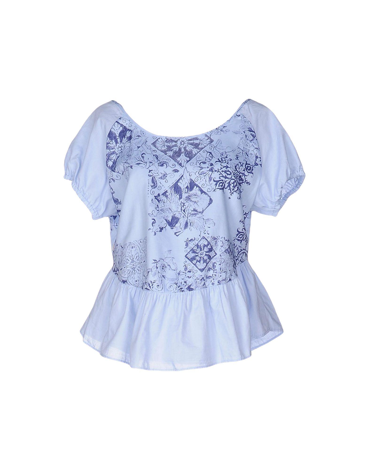 MANILA GRACE DENIM Блузка manila grace denim блузка
