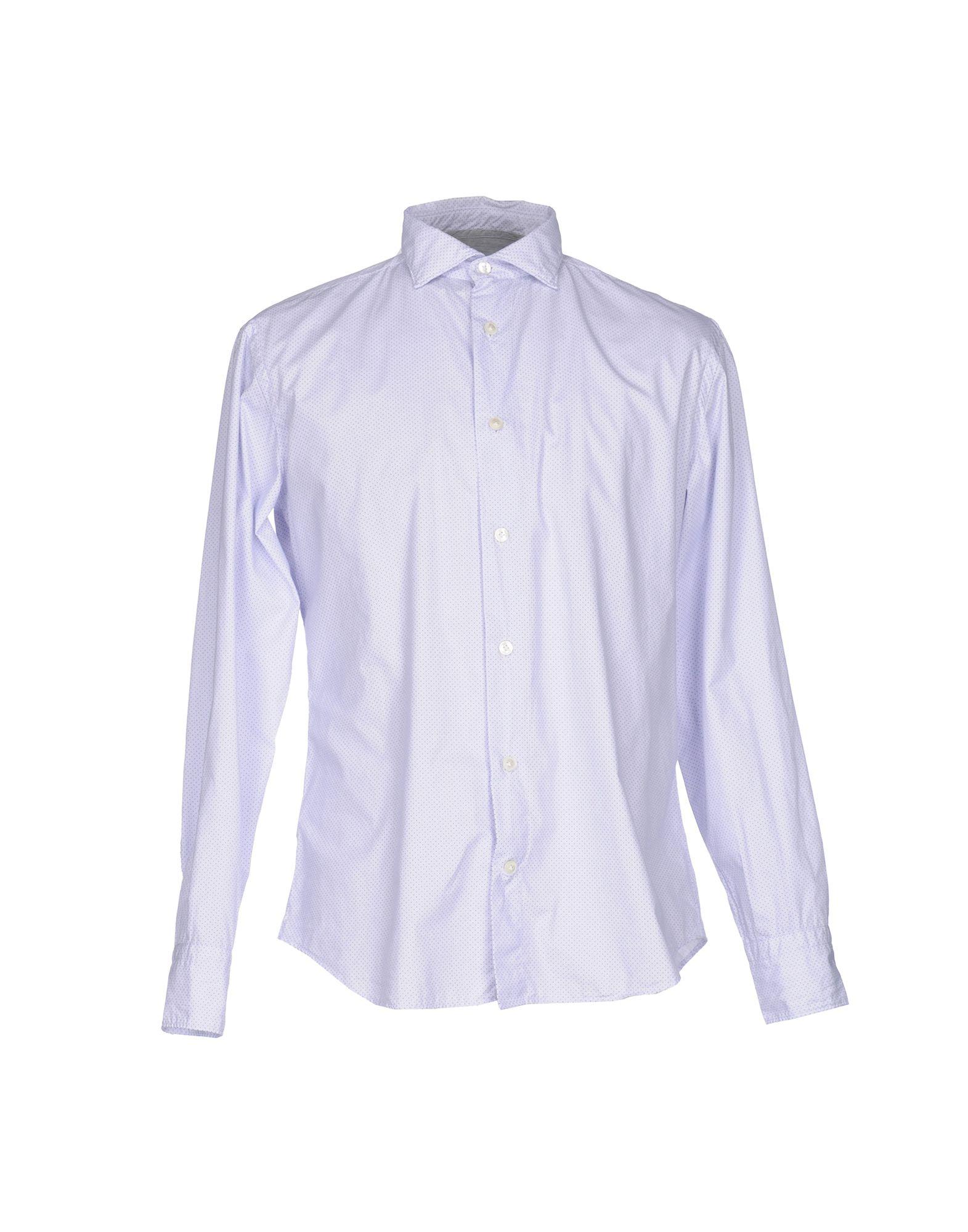 《送料無料》ELEVENTY メンズ シャツ ライラック 41 コットン 100%