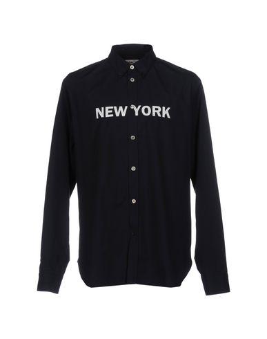 Купить Pубашка от DEPARTMENT 5 темно-синего цвета