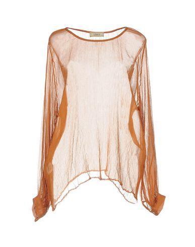 Купить Женскую блузку LUNA BI коричневого цвета