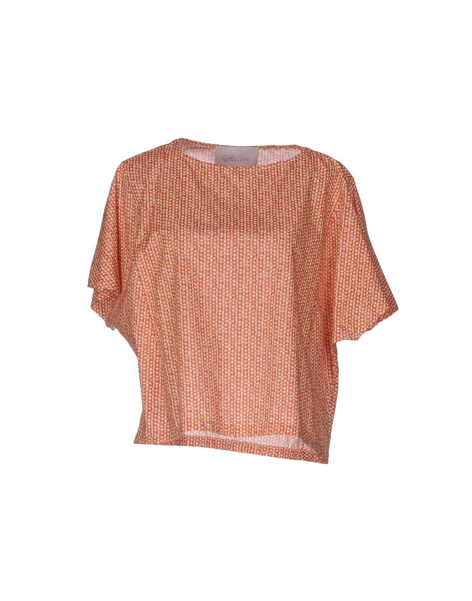 GOLD CASE Блузка gold case pубашка