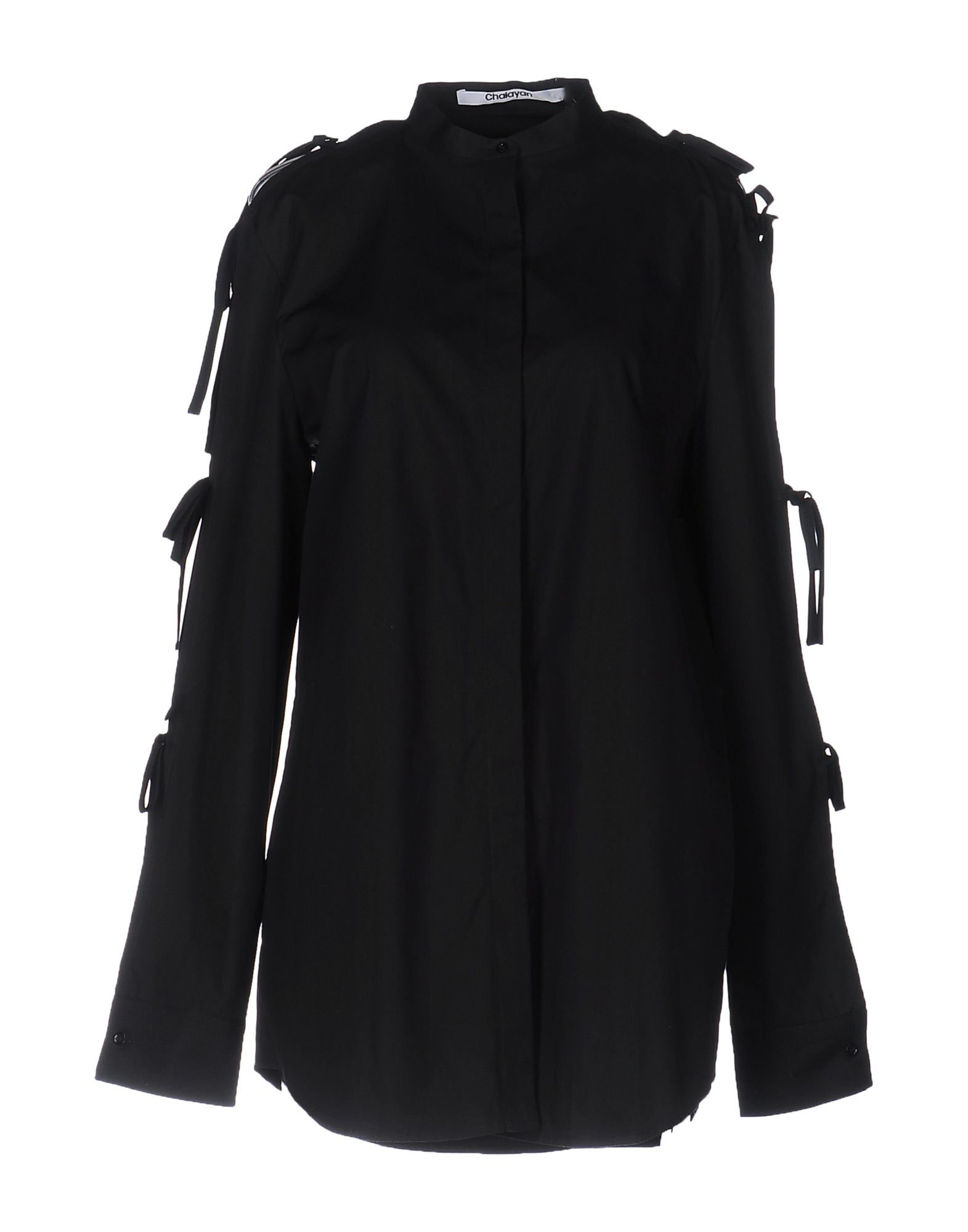 レディース CHALAYAN シャツ ブラック
