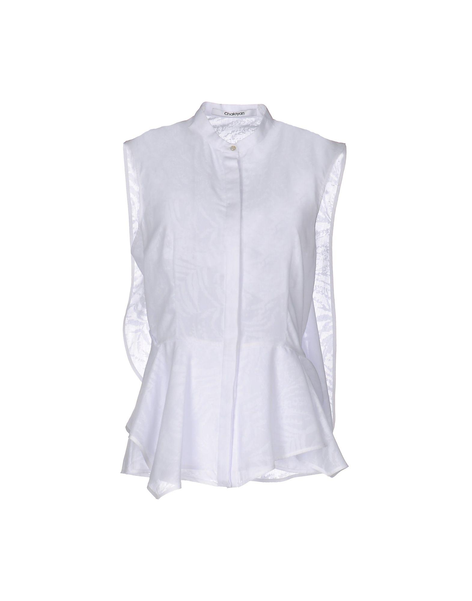レディース CHALAYAN シャツ ホワイト