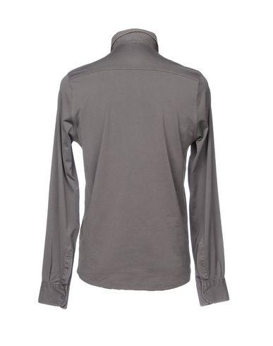 Фото 2 - Pубашка от FILIPPO DE LAURENTIIS свинцово-серого цвета