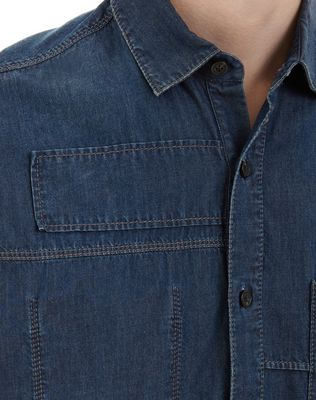 LANVIN DENIM SHIRT Shirt U a