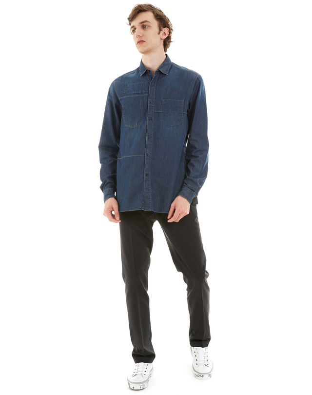 LANVIN DENIM SHIRT Shirt U r