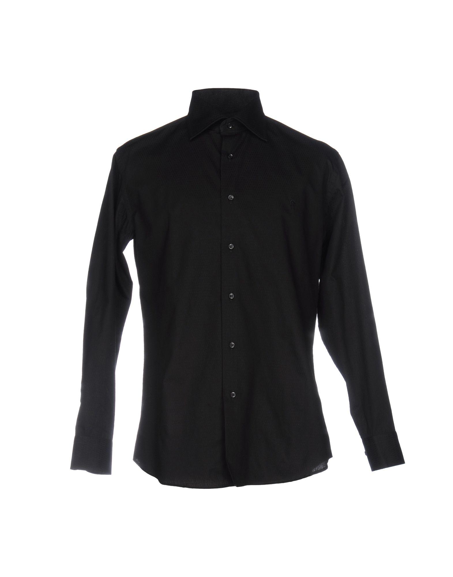 メンズ HARRY & SONS シャツ ブラック