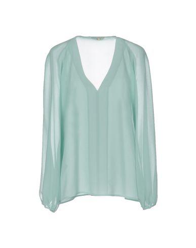 VERSACE COLLECTION Damen Bluse Säuregrün Größe 40 100% Polyester