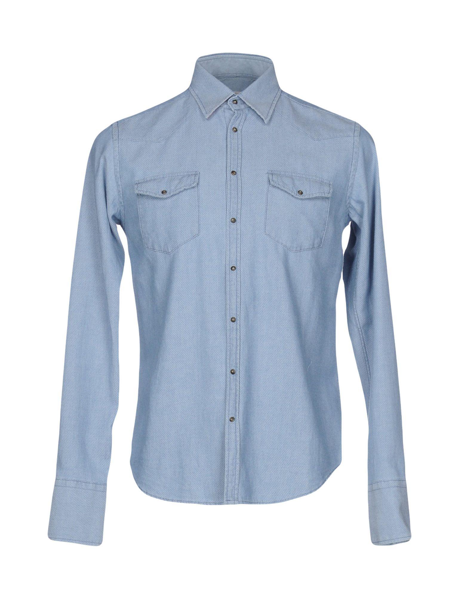 N° 4 FOUR Pубашка n° 4 four джинсовые бермуды