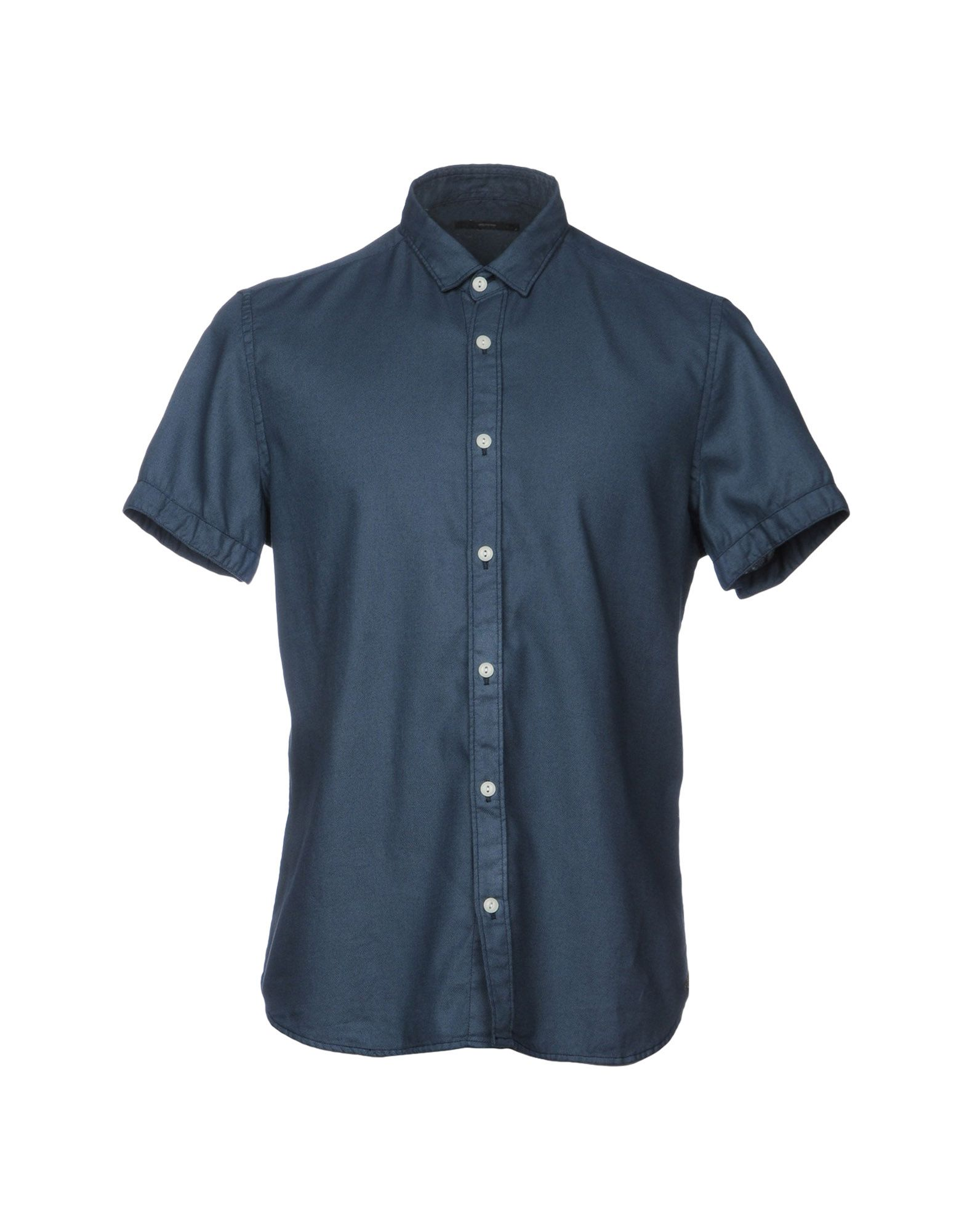 《送料無料》MELTIN POT メンズ シャツ ブルーグレー S コットン 100%