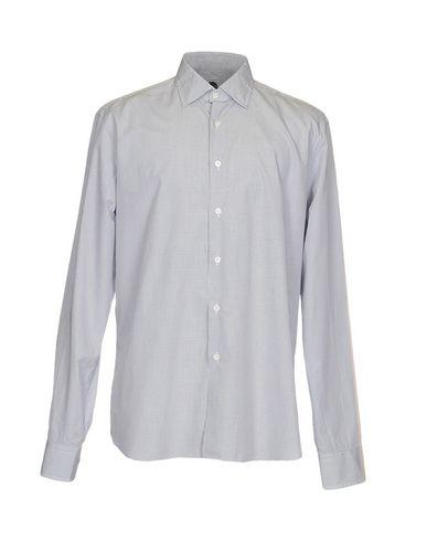 BAGUTTA メンズ シャツ グレー 38 コットン 100%