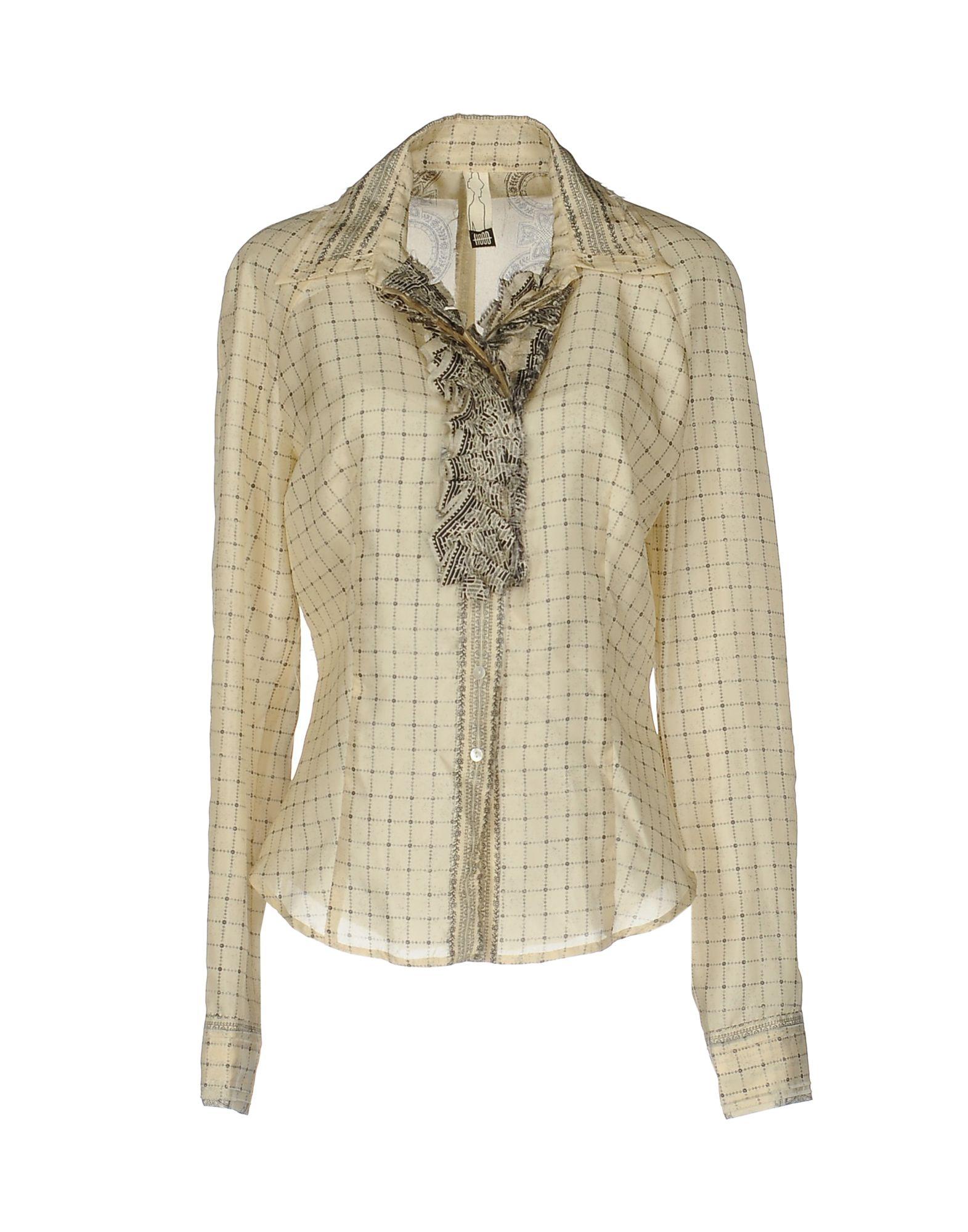 HOOD Pубашка рубашка в клетку insight hipocrisy hood fossil brown