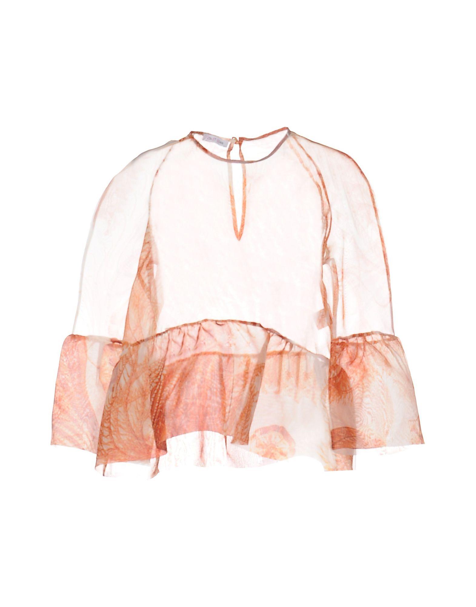 VIN ET GIAN Блузка gian marco venturi одежда 81g01