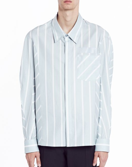 "lanvin ""big stripes"" shirt men"