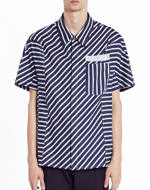 "lanvin ""tiny stripes"" shirt men"