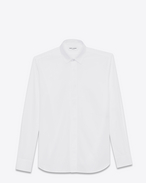 SAINT LAURENT Classic Shirts U White YVES Collar Shirt f