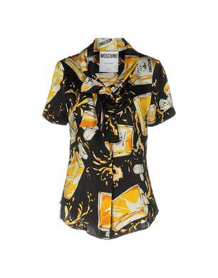 MOSCHINO COUTURE Damen Hemd Farbe Schwarz Größe 5 Sale Angebote Bagenz